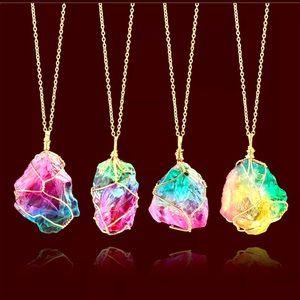Jewelry - NEW Chakra Rainbow necklace